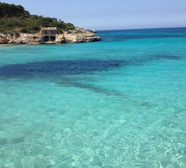 Spiaggia cala mondragó Maiorca